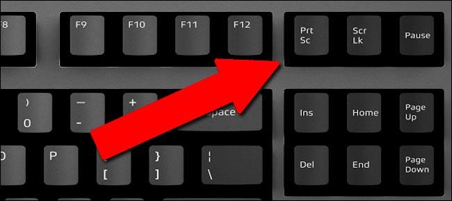 клавиша принт скрин